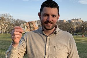 Fraser Doherty wants to encourage young entrepreneurs to take part in the Tenner Challenge
