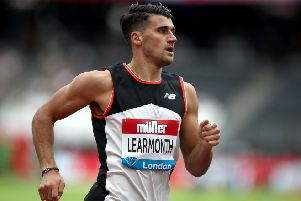 Laswade's Guy Learmonth is eyeing 800m glory in Glasgow