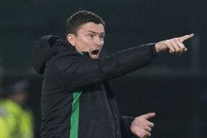 Hibs head coach Paul Heckingbottom's only focus is on the game