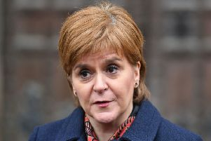 First Minister Nicola Sturgeon says the SNP is open to forming  a coalition with opposition parties. Picture: Dominic Lipinski/PA Wire