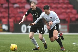 Edinburgh City's Marc Laird wants to banish the disappointment of losing to Clyde. Pic: John Devlin