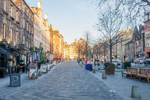 The attacks took place in the Grassmarket last November. Picture: TSPL