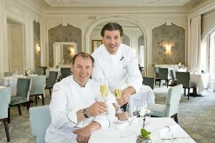 Michelin-starred brothers Chris and Jeff Galvin. Photo credit: Ian Georgeson.