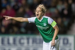 Hibs Ladies skipper Joelle Murray