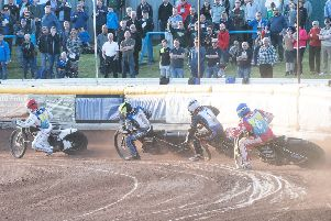 Staggs Bar have signed up for another year at Armadale with Edinburgh Monarchs. Pic: Ron MacNeill