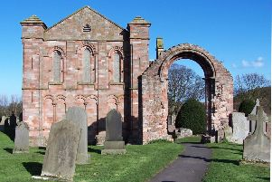 Traces of the 7th Century monastery founded by Princess Aebbe are believed to have been found in the shadows of Coldingham Priory. PIC: Creative Commons.