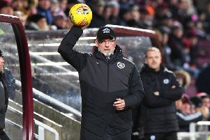 Craig Levein has urged his Hearts players to seize the moment and reach the Scottish Cup final. Picture: SNS Group