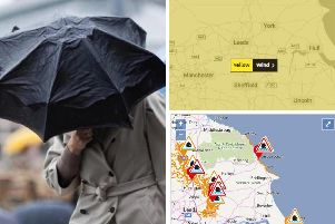 Storm Gareth is battering Yorkshire