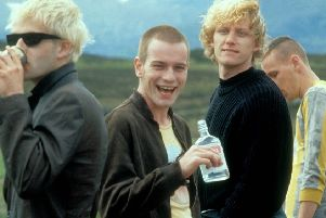 Ewan McGregor in Trainspotting. Picture: TSPL