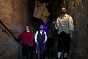 The Real Mary King's Close is a unique five star tour experience, inviting guests to discover the intriguing real stories of Edinburgh's past residents. Pic: Lisa Ferguson