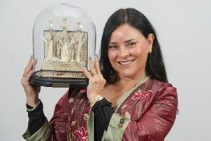 Outlander author Diana Gabaldon was recognised for services to Scottish tourism at VisitScotland's Thistle Awards this week.