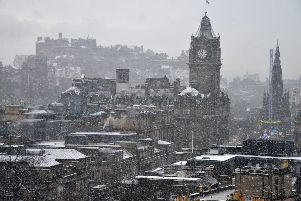 Snow will fall for much of the morning. Picture: Jon Savage