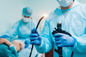 Doctors prepare for a gastroscopy examination. Picture: Getty/iStockphoto