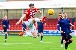 Aaron McGowan hooked a clever finish into the net for Hamilton in the first half
