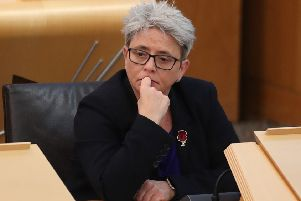 Scottish Conservative MSP Annie Wells. Pic: Jane Barlow/PA