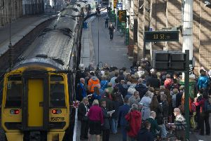 A number of trains were cancelled earlier today. Picture: Andrew O'Brien