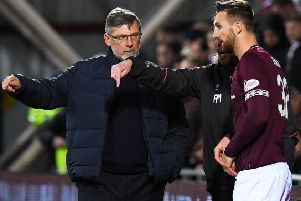 Hearts manager Craig Levein will give striker David Vanecek more opportunities