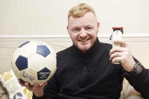 Martin the 'football barber' who travels around old folks homes giving men with dementia haircuts.