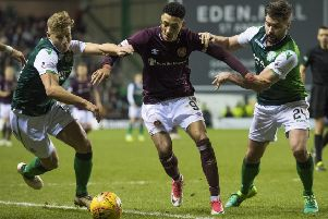 Hibs and Hearts are set to meet twice before the end of the Ladbrokes Premiership season. Two points separate them in the table