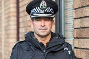 Chief Superintendent Gareth Blair is the Divisional Commander for Edinburgh