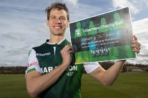 Jonathan Spector promotes the Hibernian Community Foundation's Charity Ball at the Sheraton Hotel on Saturday, March 30.