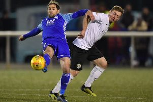 Edinburgh City have not lost to Peterhead this season. Pic: TSPL