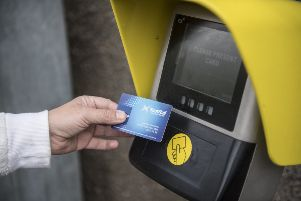 Smartcard Plus enables ScotRail passengers to travel without buying a ticket first. Picture: John Devlin