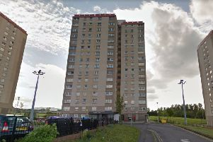 The block of flats in Moredun. Pic: Google Maps