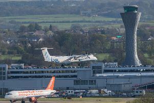 The lounge at 'Edinburgh Airport received an unfavourable review from Which? inspectors. Picture: Ian Georgeson