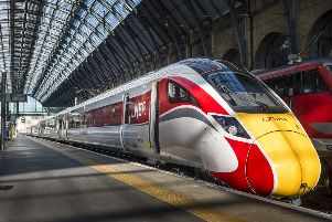 Part of LNER's faster-accelerating Azuma fleet.