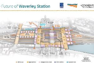 Waverley Station's passenger numbers are expected to soar over the next 30 years to 49 million. Picture: Contributed