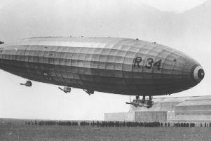 The airship.