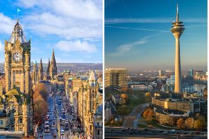 The plane landed in Edinburgh instead of Dusseldorf on Monday. Pic: f11 photo/Shutterstock