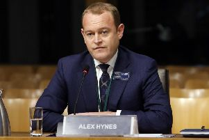 Scotrail Alliance managing director Alex Hynes faced two very different audiences this week. Picture: Andrew Cowan/Scottish Parliament