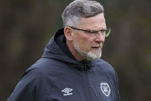 Hearts manager Craig Levein is planning for next season