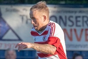 Lee Currie netted a double for Bonnyrigg