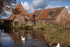 Preston Mill was made famous by its use as Lallybroch in hit TV series Outlander.