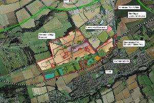 "Proposals for ""Riccarton Village"" in the west of Edinburgh includes 80 hectares of green space."