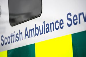 The pedestrian was rushed to hospital following the collision.