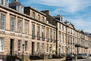 Properties in Edinburgh's EH3 postcode, which includes Heriot Row in the New Town, were among the most desirable amongst international buyers. PIC: Contributed.