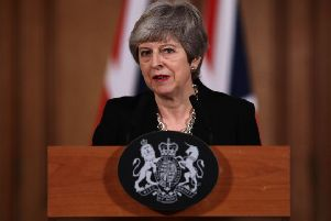 Theresa May. (Picture: Jack Taylor/PA Wire)