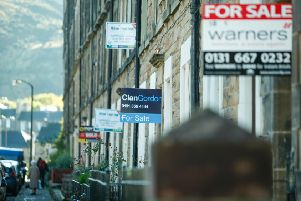 Rising costs for those trying to get on the property ladder in Edinburgh.
