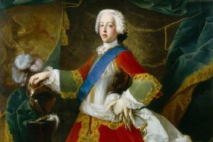Paintings such as Louis Gabriel Blanchet's 'effeminate'  depiction of Prince Charles Edward Stuart helped to skew the true identity of the Jacobite leader, it has been claimed. PIC: Creative Commons/National Portrait Gallery.