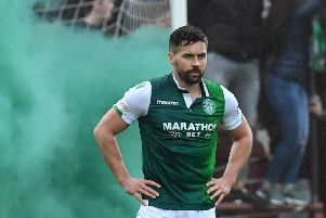 Darren McGregor has enjoyed great success with Hibs. Hearts manager Craig Levein admits he's a big fan of the player