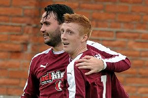 Tommy Coyne, left, and Owen Ronald, right, were on target for Linlithgow
