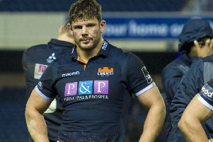 Ross Ford will depart Edinburgh after 11 years and more than 190 appearances. Picture: SNS Group