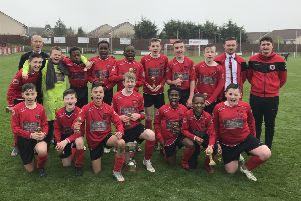 Craigroyston Under-13s got off to a great start at New Dundas Park before going on to lift the trophy