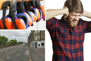 The noise has been annoying residents in the Seafield and Leith areas. Pictures: Lincoln Beddoe/ Lenar Musin - Shutterstock and Google Maps