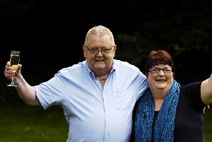 Colin and Christine Weir back in 2011. Picture: Phil Wilkinson/TSPL