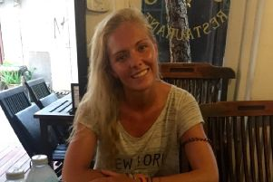 Rebekah Fulton, 25, is currently battling a serious infection in a hospital in Phuket, Thailand. Picture: Go Fund Me